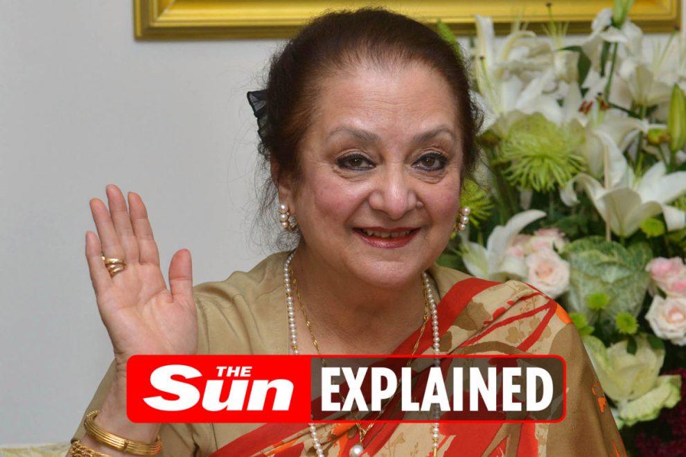 Who is Dilip Kumar's wife Saira Banu?