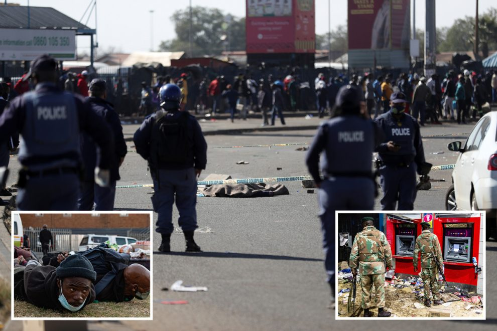 Zuma riots – Deadly stampedes kill 30 looters leaving streets littered with bodies as military crackdown on protests