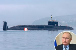 Russian hypersonic nuke submarines running sinister 'deep penetration' missions diving beyond 500m in Atlantic Ocean
